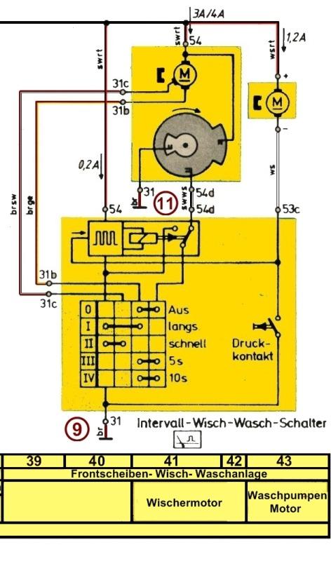 Erfreut Universal Wischermotor Schaltplan Ideen - Der Schaltplan ...